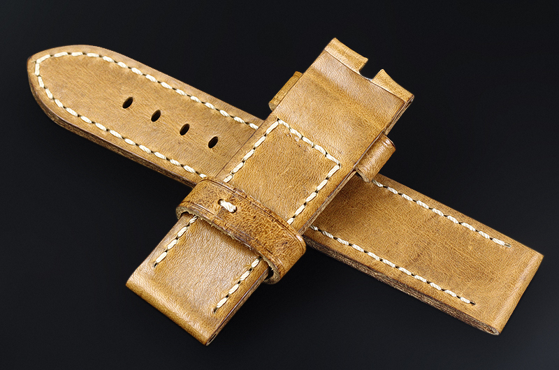 OP023-Genuine-Leather-Watch-Strap-Calfskin-Watch-Band-24mm-for-Panerai-Watch-Accessories